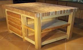 butcher block table island home design