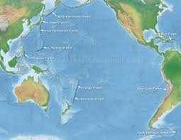 Map Of The Seas In The World by World Ocean Maps