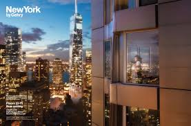 Dbox Rendering Advertising Campaign For New York By Gehry The Little Chap In The