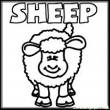 farm sheep coloring coloring free sheep coloring pages