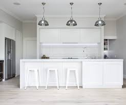 quaker style cabinetry stars in this new kitchen design