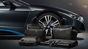 bmw i8 luggage louis vuitton and bmw partner to create luggage of the future