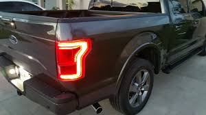 Oem Led Tail Lights On My 2016 Xlt Finally