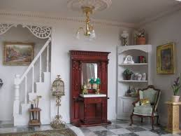 Shabby Chic Dollhouse by 127 Best Victorian Dollhouse Miniatures Images On Pinterest