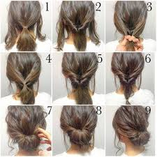 prom updo instructions top 10 messy updo tutorials for different hair lengths bun