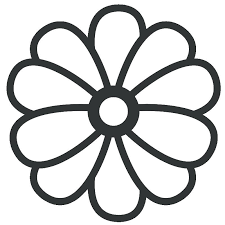 printable large flowers large flower coloring pages yuga me