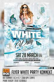 flyer templates graphicriver flyer white party konnekt graphicflux