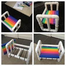 Pvc Patio Furniture Cushions by I Made A Little Chair For Children Out Of Pvc Pipes Diy Selfmade
