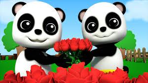 bao panda ringa ringa roses nursery rhymes kids songs baby videos
