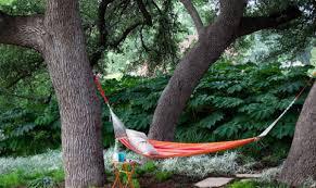 hammock swing landscape ideas unique landscape
