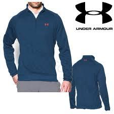 armour sweater armour s ua fleece thermal zip golf sweater