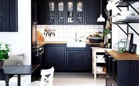 Ikea Black Kitchen Cabinets Fabulous Fit Ikea Kitchen Cabinets Uk Ikea Laxarby Black Fitted