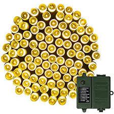 echosari 100 leds outdoor led string lights