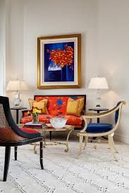 Formal Living Room Accent Chairs More Formal Sitting Area In This Living Room Features Bright
