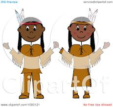 thanksgiving american clipart thanksgiving stick native american couple royalty free