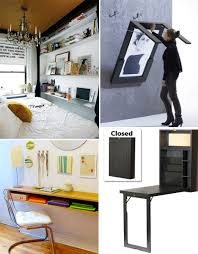 Small Apartment Desks Small Space Hacks 24 Tricks For Living In Tiny Apartments Our
