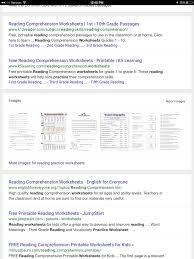 free reading comprehension worksheets grade 5