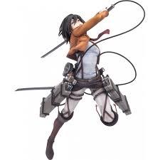 Mikasa by Hdge Technical Statue No 5 Attack On Titan Mikasa Training Corps