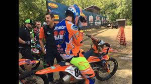 live motocross racing jeffrey herlings riding press day at ironman motocross national