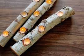 pine cone tea light holder 17 easy diy holiday candle holders