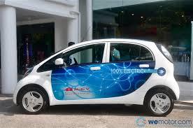 mitsubishi electric car mitsubishi launches its fully electric i miev starting at rm136