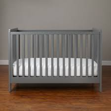 Affordable Baby Cribs by Carousel Crib Grey The Land Of Nod
