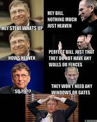 Bill Gates Steve Jobs Meme - letztroll place for pure laughter 100 funny original meme