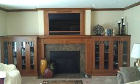 Entertainment Centers With Bookshelves Fill Up Your Interior With Not Only Fireplace But Multipurpose