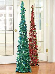 5ft slim tinsel pop up tree 15 glittery tree solutions