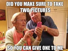 Old Cell Phone Meme - old people and technology