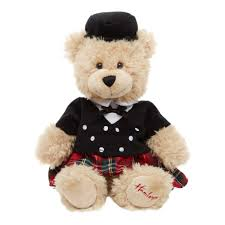 hamleys scotsman teddy bear 18cm 15 00 hamleys for hamleys
