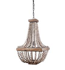 How To Make A Beaded Chandelier Affordable And Adorable Farmhouse Lighting Get The Look For Less