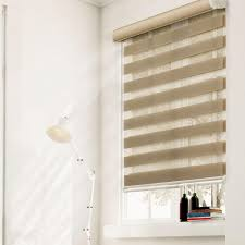 Blue And White Striped Blinds Roller Shades Shades The Home Depot