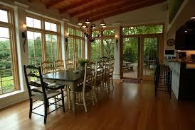 Airy Dining Room Love The Walls Of Floorceiling Length Windows - Sunroom dining room