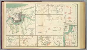 Battle Of New Orleans Map by Approaches To New Orleans David Rumsey Historical Map Collection