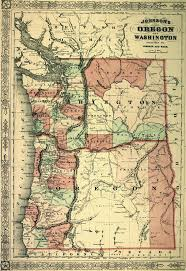 Washington Oregon Map by 17 Best Cartography Art Images On Pinterest Cartography