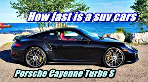Porsche Cayenne Cargo Space - 2017 porsche cayenne turbo s review how fast is a suv cars youtube