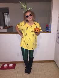 diy costume cheap easy pineapple diy