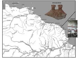 Map Of The Amazon River Where The Amazon River Meets The Orinoco River Archaeology Of The