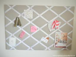 Pin Boards Tiffany Leigh Interior Design Diy Ribbon And Linen Pinboard