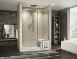 Bathroom Bench With Storage Bathroom Indoor Benches Stand Up Shower With Bench