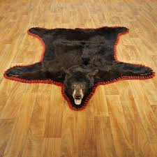 ideas feels great under your feet with fake bear skin rug