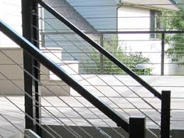aluminum handrail top rail support for cable railing systems