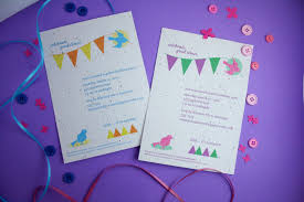 new seed paper invites to celebrate your birthday blog