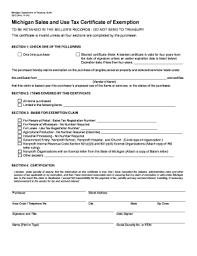 resale certificate michigan fill online printable fillable