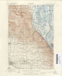 oregon historical topographic maps perrycastañeda map missouri