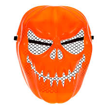 diamond tactical full face protection ghost balaclava mask official halloween 3 pumpkin mask mad about horror evil pumpkin
