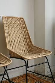 Esszimmer Korbst Le True Vintage 1von2 Rattan Korb Stuhl 60er String Wicker Chair Made