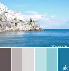 light blue gray color a tower inspired color palette warm gray sky blue cerulean