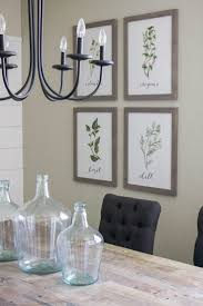 how to decorate a dining room wall dining room buffet decor